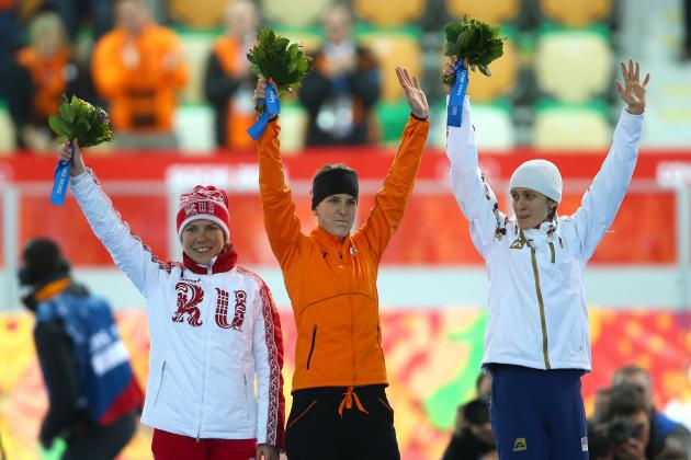 Olympic Speedskating 2014: Live Women's 3000m Medal Results and Analysis
