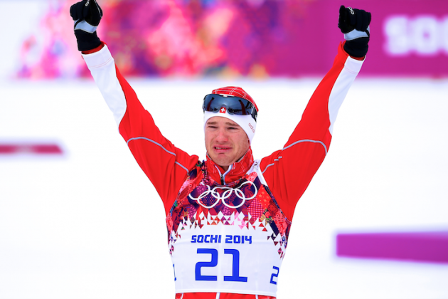 Cross-Country Skiing Medal Results and Times from Olympic 2014 Men's Skiathlon