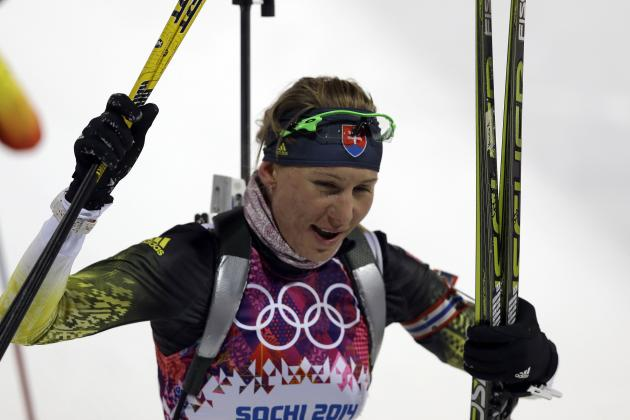 Biathlon Medal Results and Times from Olympic 2014 Women's 7.5km Sprint