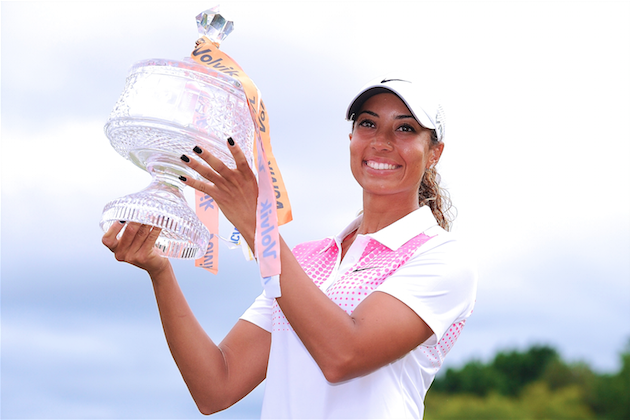 Tiger Woods' Niece Cheyenne Woods Wins 2014 Australian Ladies Masters