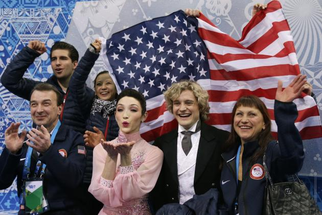 Olympic Ice Dancing 2014: Team Trophy Free Scores and Recap