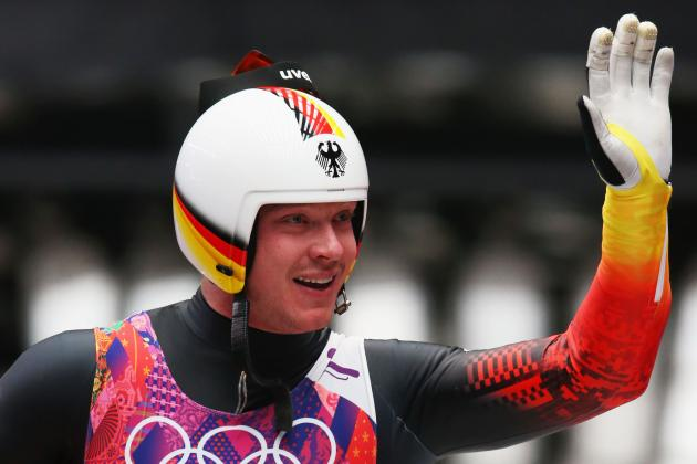Men's Singles Run 4 - Luge - Sochi 2014 Olympics