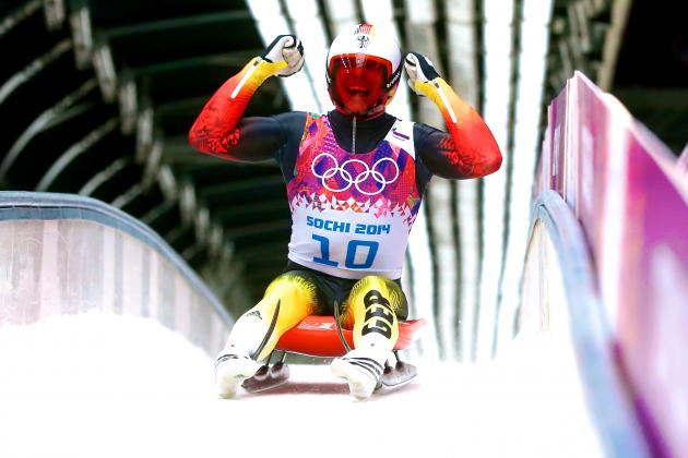 Luge Medal Results and Times from Olympics 2014 Men's Singles