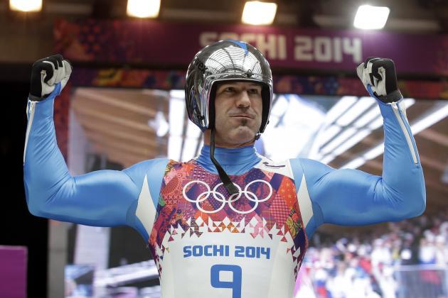 Ageless Wonder Armin Zoeggeler Captures 6th Straight Olympic Luge Medal