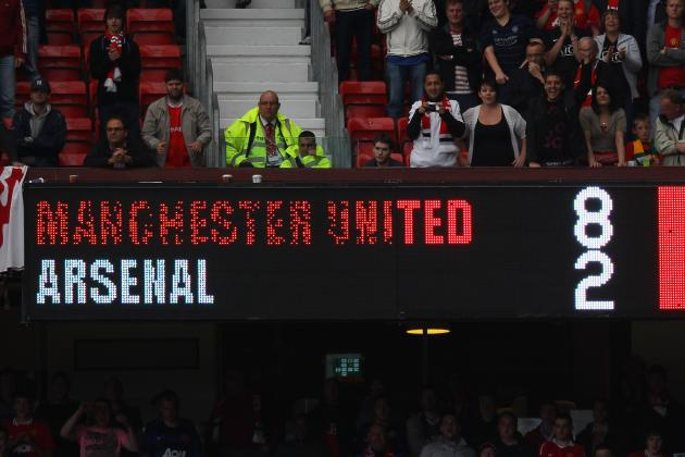 How the Tables Have Turned for Arsenal and Manchester United Since That 8-2 Game