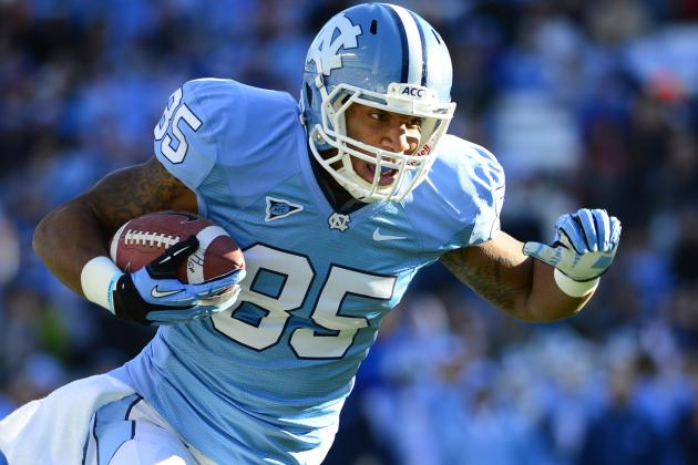Eric Ebron NFL Draft 2014: Highlights, Scouting Report for Detroit Lions TE