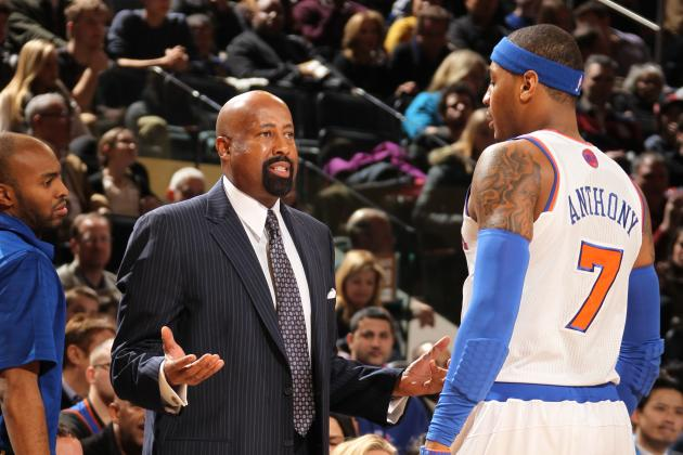 Which Potential NY Knicks Coach Would Carmelo Anthony Mesh Best With?