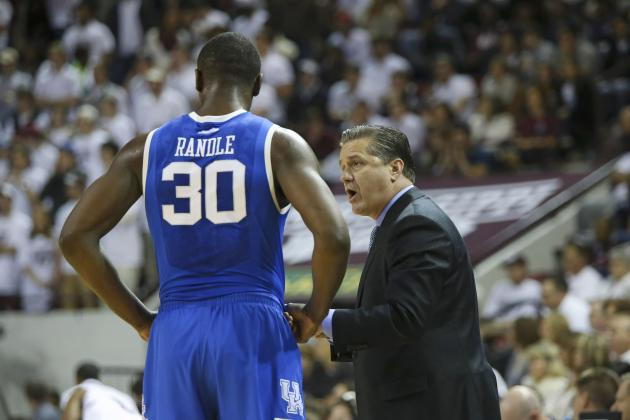 Projecting Kentucky Wildcats' Ranking in Updated College Basketball Polls