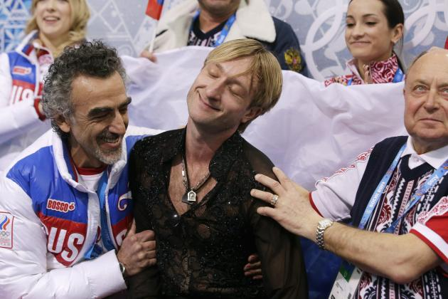 Evgeni Plushenko's Last Hurrah Has Russia on Its Feet at 2014 Winter Olympics