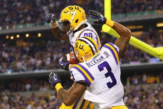 2014 NFL Draft: Evaluating LSU Wide Receivers Odell Beckham and Jarvis Landry