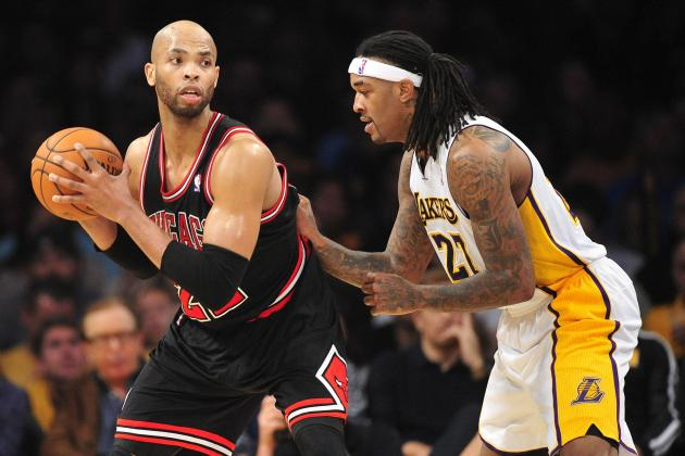 Bulls Down Lakers for .500 Trip