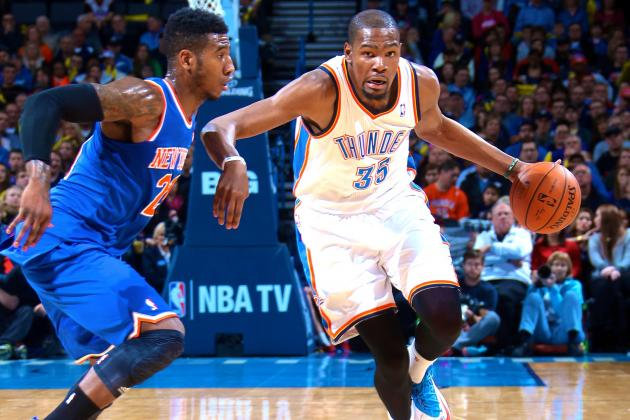 Kevin Durant Changing Definition of Volume Scorer in NBA