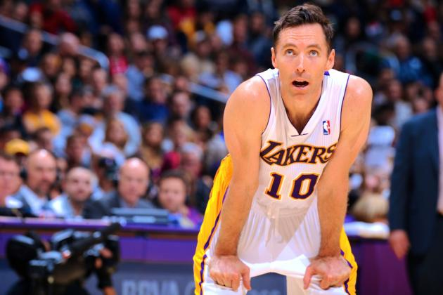 Steve Nash Injury: Updates on Lakers Star's Leg and Return