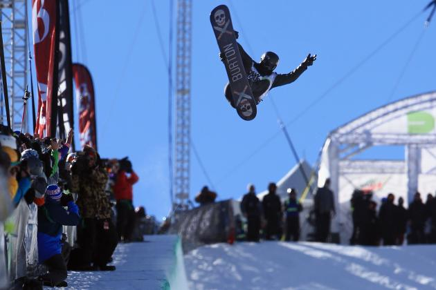 Olympic Snowboarding 2014: Previewing Favorites to Win Men's Halfpipe