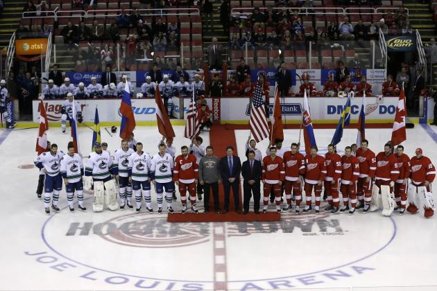 How Will the Olympic Break Affect the Detroit Red Wings' Playoff Push?