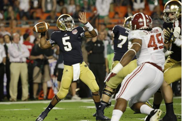 Notre Dame Football: Quarterbacks Finally Align with Brian Kelly's Vision