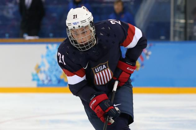 Sochi 2014: Women's Hockey USA vs. Switzerland Live Blog | Bleacher ...