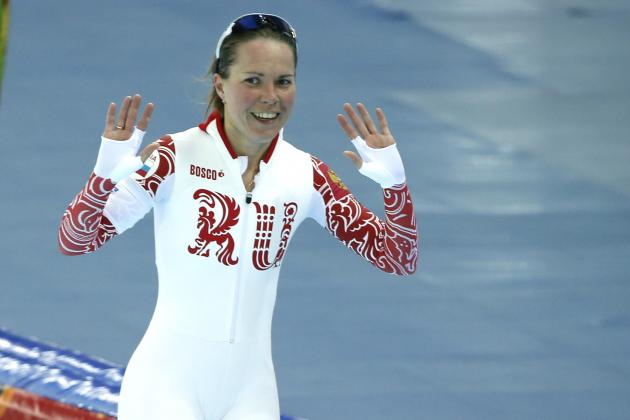 Russian Speed Skater Olga Graf 'Totally Forgot' She Was Naked Under Suit