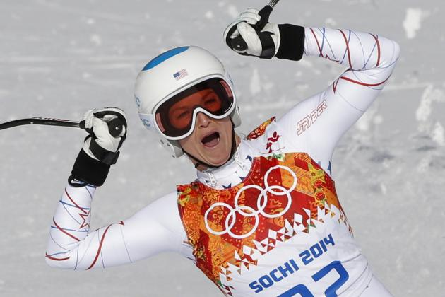 Olympic Alpine Skiing 2014: Women's Super Combined Results