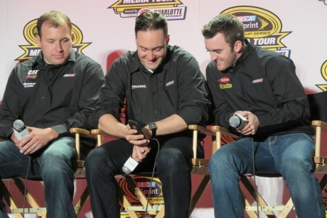 FYI WIRZ: NASCAR Sprint Media Tour Had Drivers Warming Up Fast as Snow Fell