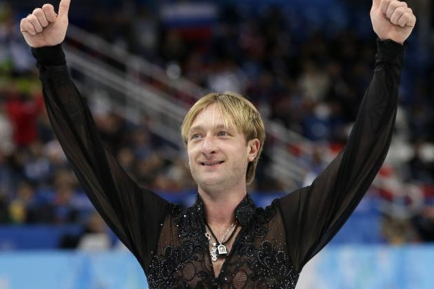 Evgeni Plushenko Will Skate in Men's Competition
