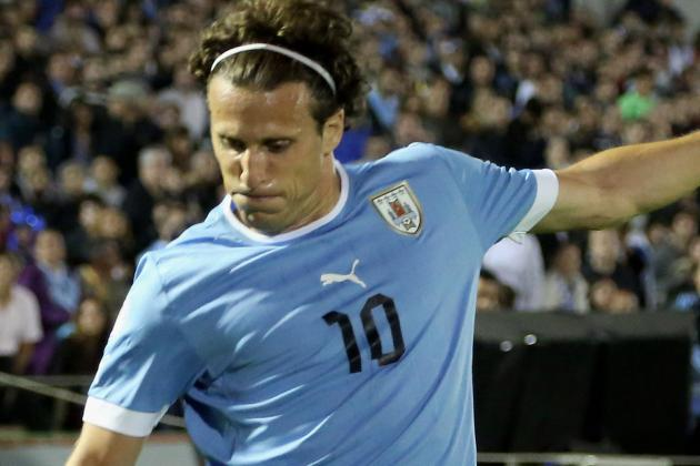 Forlán: Uruguay Are Not Afraid of England