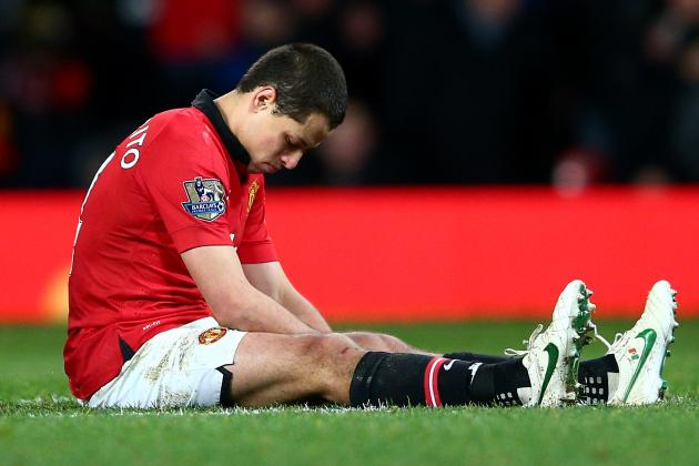 Manchester United's Javier Hernandez Writes Cryptic Message After Fulham Draw