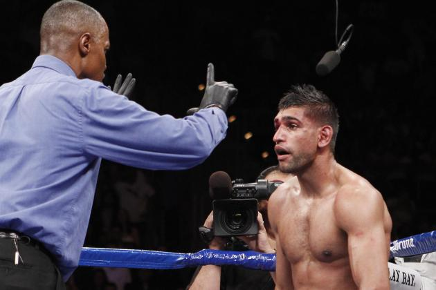 Amir Khan Responds to Weak Chin Accusation with Facts on Other Boxing Stars
