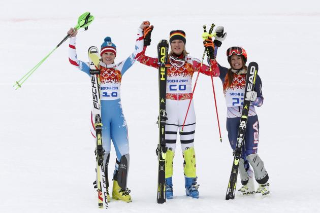 Olympic Women's Super Combined Results 2014: Alpine Skiing Medal Winners, Times