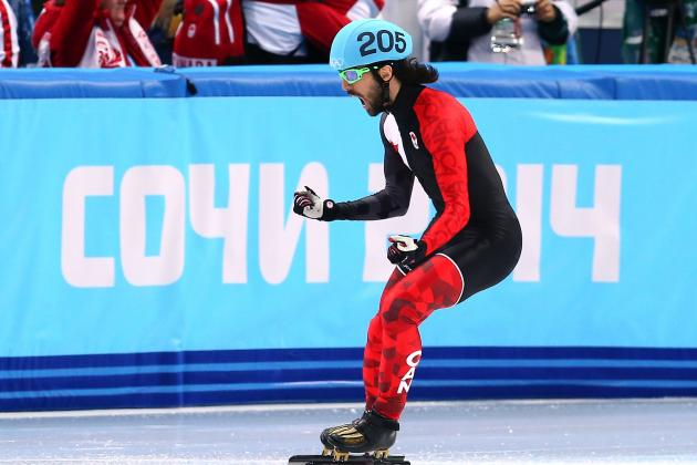 Olympic Short-Track Speedskating: Live Results from Men's 1,500m, Women's 500m
