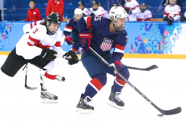 USA vs. Switzerland Women's Hockey: Score and Recap from 2014 Winter Olympics