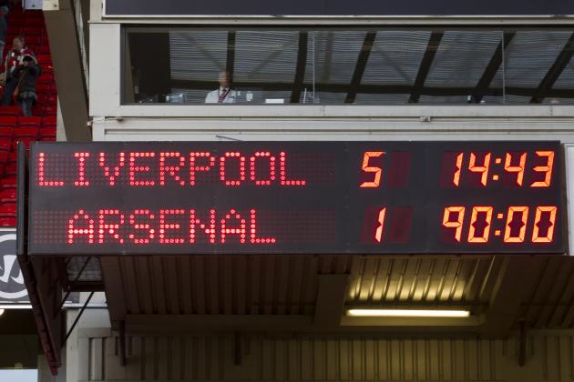 Liverpool's 5-1 Demolition of Arsenal Had the Hallmark of Champions