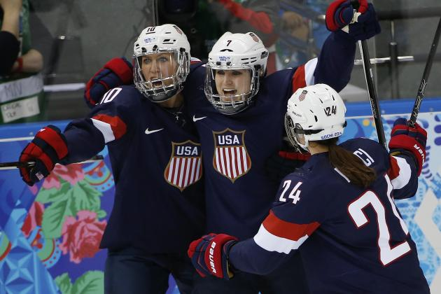 Olympic Hockey 2014: Scores, Recap and Updated Women's Standings After Day 3