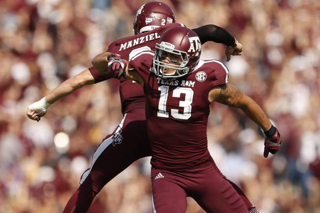 Mike Evans and Johnny Manziel Throw Down Ridiculous Dunks in Video