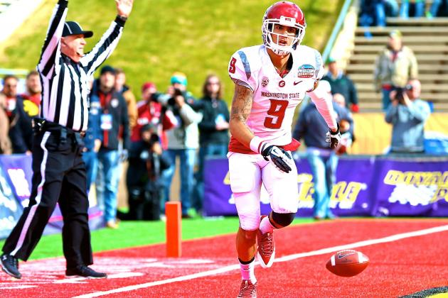 Washington State WR Gabe Marks Arrested for Assault