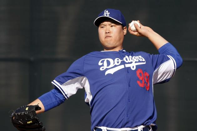 Dodgers' Hyun-Jin Ryu Checks in with Trimmer Look