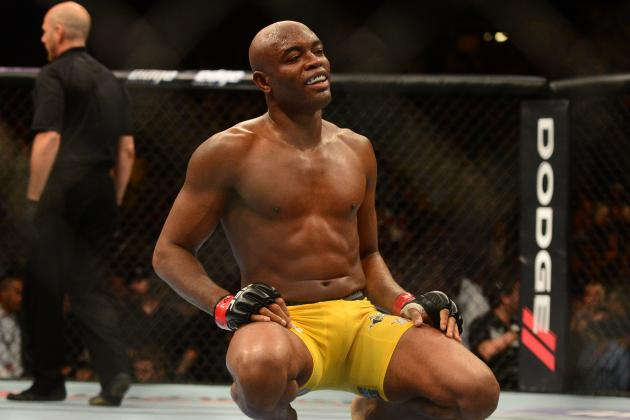 Video: Anderson Silva Continues to Make Progress, Walks Down Flight of Stairs