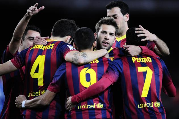 FC Barcelona: How Barcelona Will Line Up Against Real Sociedad