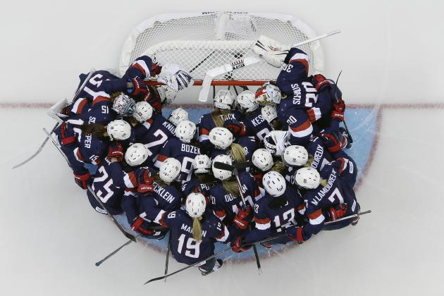 US Olympic Hockey Team 2014: Predictions for Remaining Men's and Women's Games