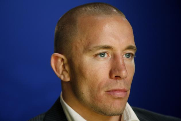 Dana White Should Stop Talking Smack on Georges St. Pierre
