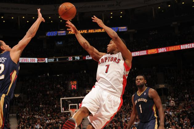 Lowry Scores 19 as Raptors Beat Pelicans 108-101