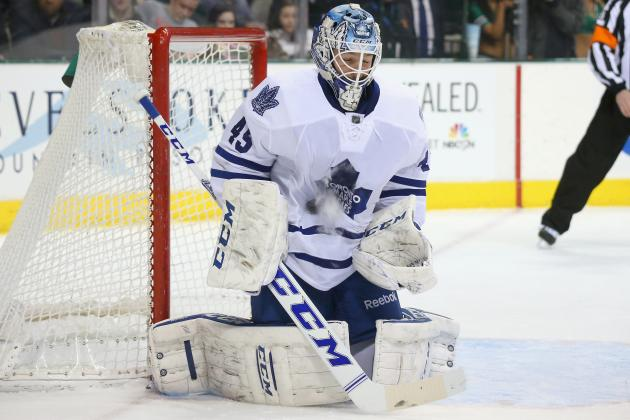 Has Toronto Maple Leafs' Jonathan Bernier Entered 2013-14 Vezina Trophy Race?