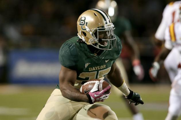 Lache Seastrunk NFL Draft 2014: Highlights, Scouting Report for Redskins RB
