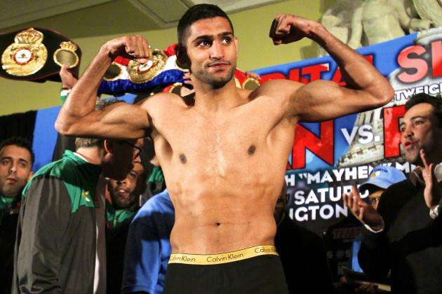 Amir Khan Wins Fan Poll on Who Floyd Mayweather Will Fight Next