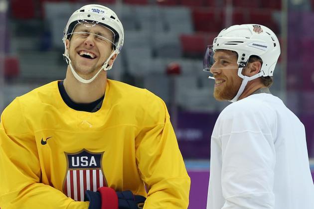 Pavelski Joins Sniper-Filled Line for Team USA