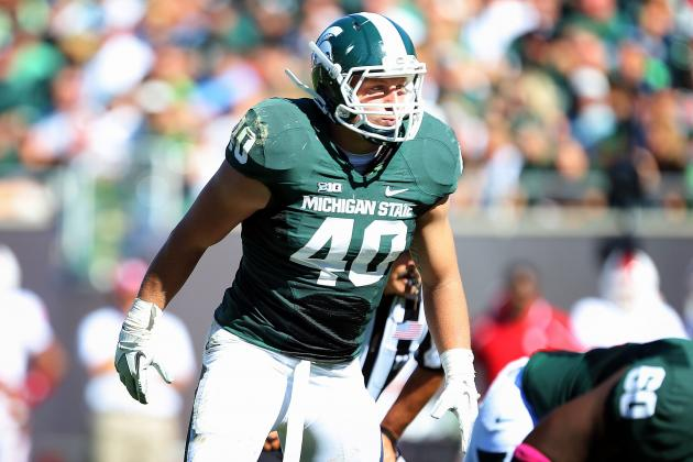 Max Bullough Scouting Report: NFL Outlook for Michigan State Inside Linebacker