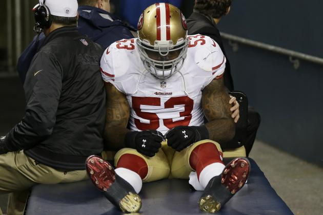 San Francisco 49ers: Breaking Down NaVorro Bowman's Rehab Timetable
