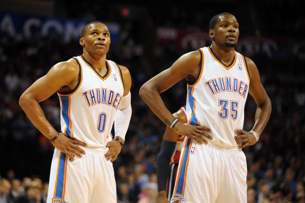 Russell Westbrook's Return Must Take Weight Off Kevin Durant