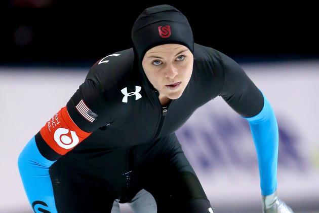 Sochi Games a Family Affair for Rising US Speedskating Star Heather Richardson