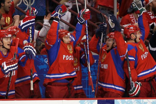 Russians 'Show We Are One Team' with Mass Press Conference